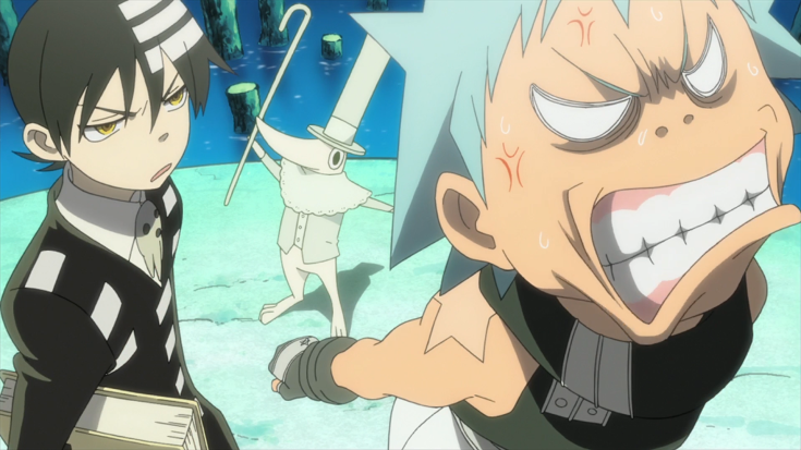Soul_Eater_Episode_9_HD_-_Kid_and_Black_Star_annoyed_with_Excalibur.png