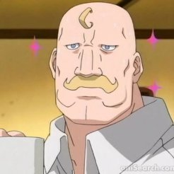 Major Armstrong from Fullmetal Alchemist Brotherhood