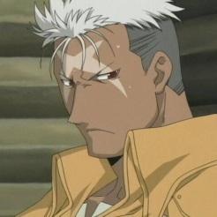 Scar from Fullmetal Alchemist Brotherhood