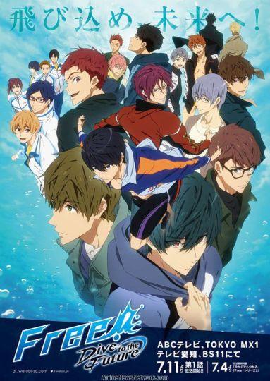Free Dive into the Future Anime