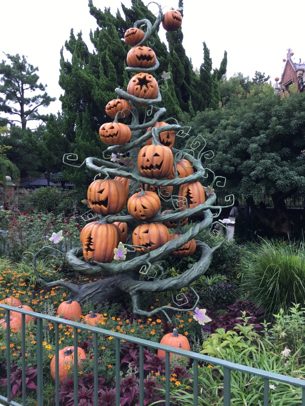 Haunted Mansion Ride during Halloween