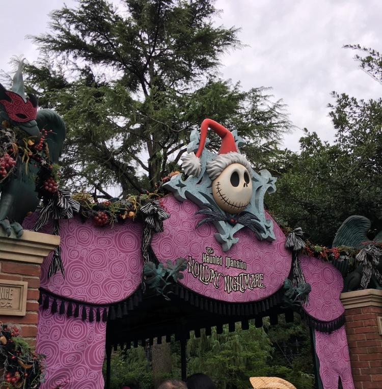Haunted Masion Ride in Tokyo Disneyland