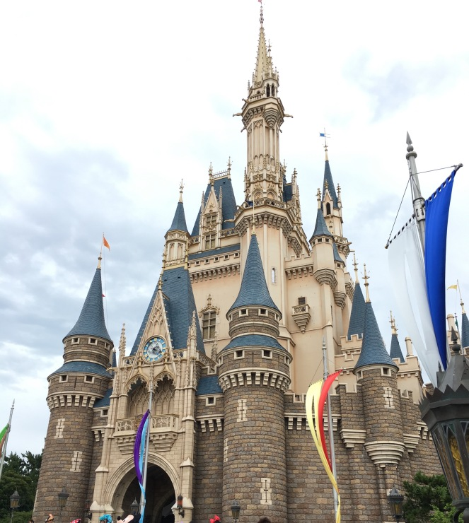 The Castle at Tokyo Disneyland