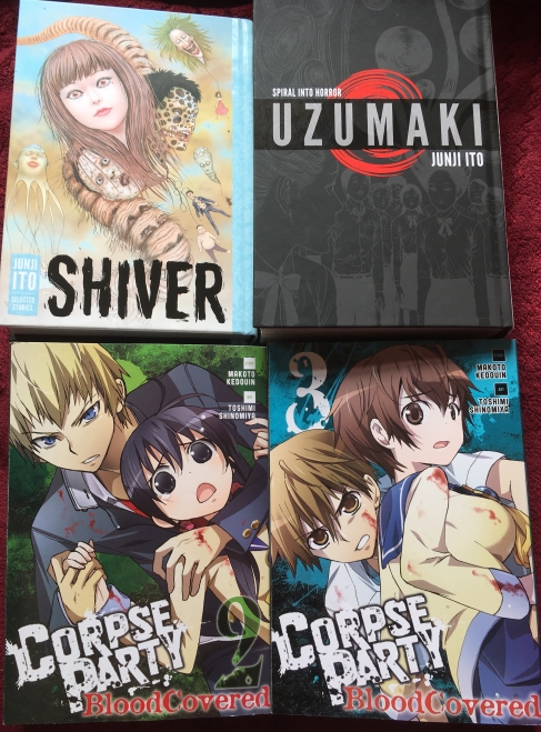 Manga Haul Blog Post