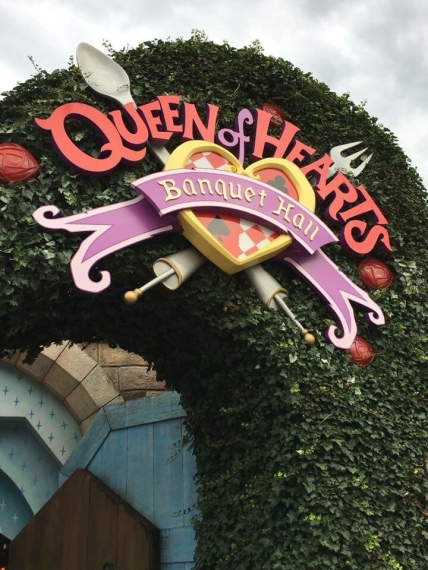 Queen of Hearts Disneyland