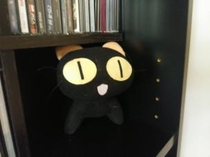 Black Cat Plushie