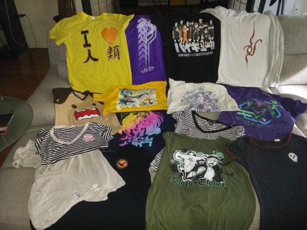 Anime Shirt Collection