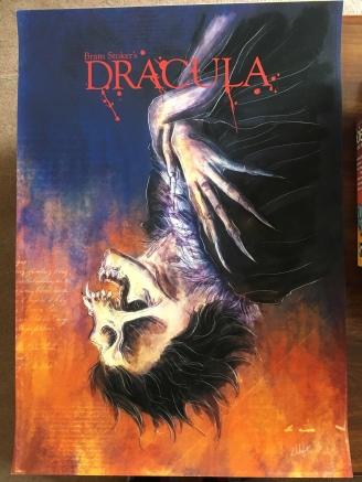 Dracula Print by Lyndon White