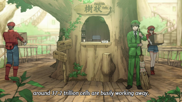 Cells at work review