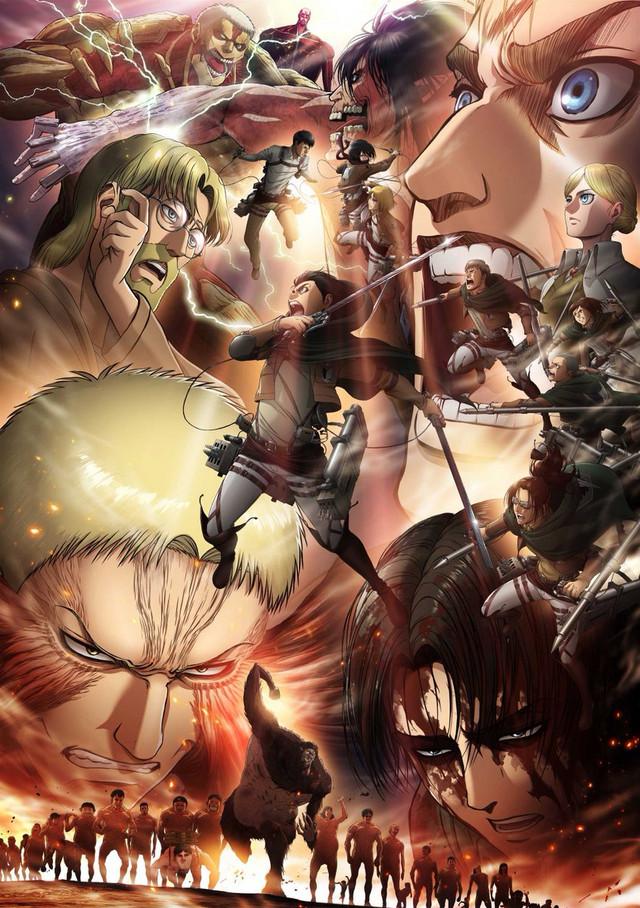 Attack on titan season 3 part 2 anime