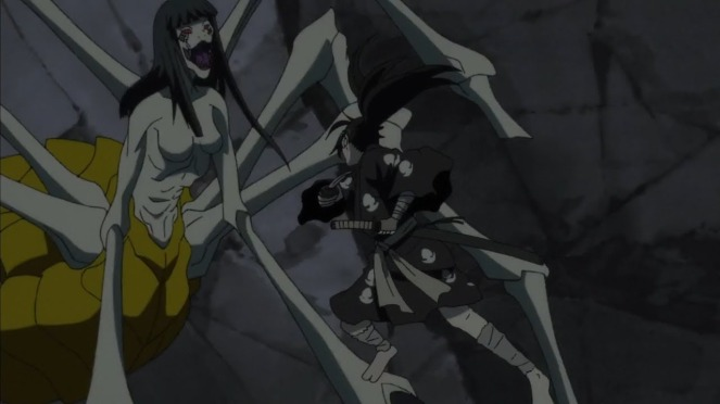 Dororo anime Jorogumo