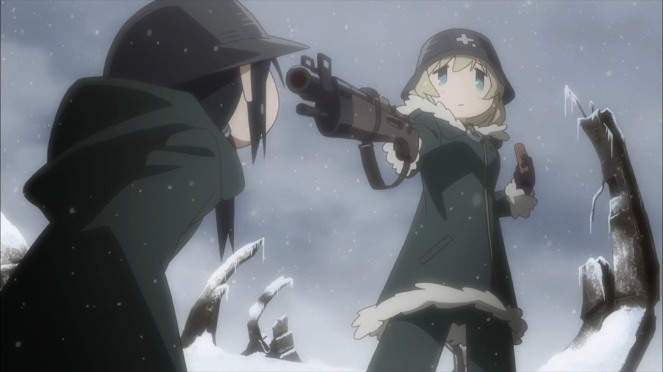 Girls last tour anime review